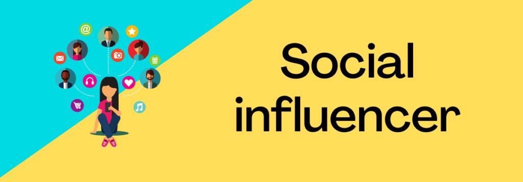 Social influencer passive income sources